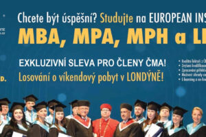 Chcete být úspěšní? Studujte na EUROPEAN INSTITUTE!