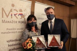 Manažeři roku 2019: Hana Šmejkalová a Jan Juchelka