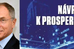 Kniha ČMA Návrat k prosperitě: prof. Jan Švejnar o chybách a naší budoucnosti