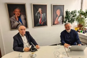 Kancelář ČMA navštívil profesor Vladimír Mařík, předseda Klubu Manažerů roku