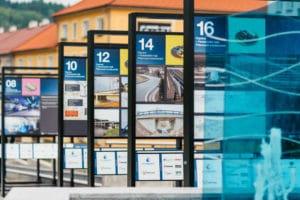 Správa a údržba silnic Pardubického kraje představuje putovní výstavu o budoucnosti krajské dopravy