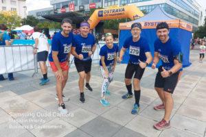 Členové Elite klubu Moravskoslezského kraje se zúčastnili charitativního závodu Ostrava City Marathon