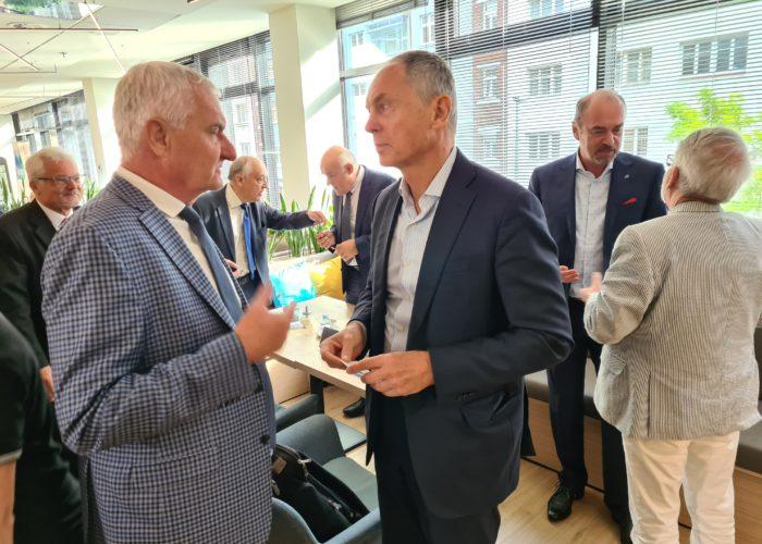 Jan Švejnar z Rady expertů ČMA a Tomáš Macků z agentury Ipsos