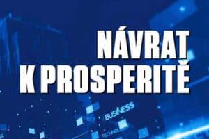 ŽIVĚ: Konference Návrat k prosperitě
